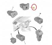 Citroen C-Elysee Dörtlü Flaşör Düğmesi
