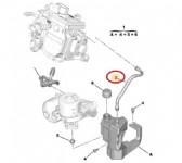 Citroen C3 A51 Otomatik Şanzıman Hidrolik Hortumu