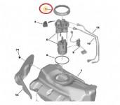 Peugeot 107 Yakıt Depo Somunu