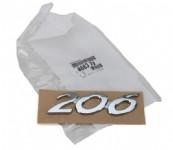 Peugeot 206 Bagaj Yazısı