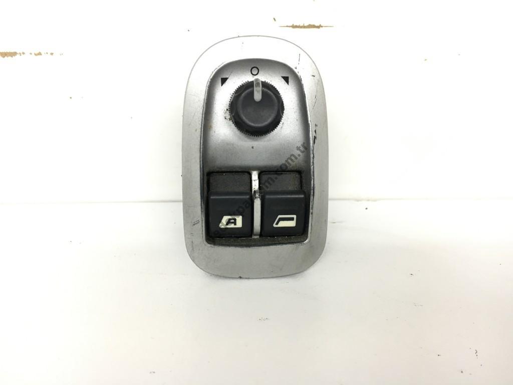Peugeot 206 Plus Cam Düğmesi Ayna Ayarlı
