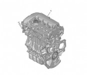 Peugeot 3008 T84E 1.6 Thp Komple Motor Ep6Cdt