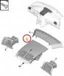 Peugeot 407 Torpido Orta Hava Izgarası