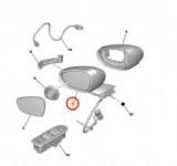 Peugeot 508 Dış Ayna Sol Elektrikli Katlanır