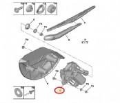 Peugeot Bipper Arka Silecek Motoru