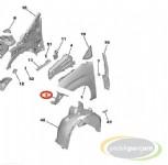 Peugeot Rifter Ön Çamurluk Bağlantı Braketi Sol
